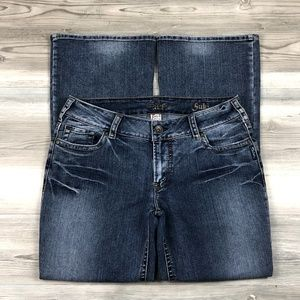 Silver Suki Boot Cut Jeans plus size 32 x 30